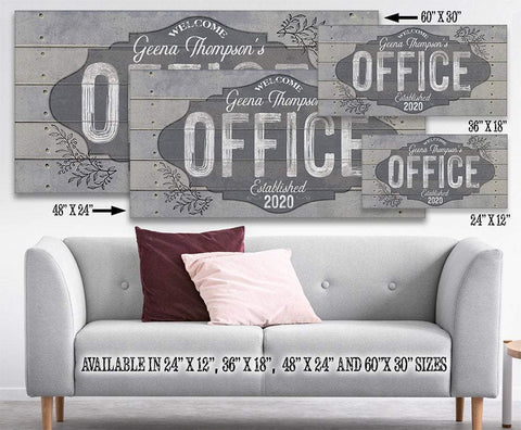 Image of Personalized - Office - Canvas
