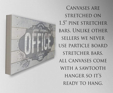 Personalized - Office - Canvas