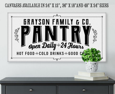 Personalized - Pantry - Canvas.