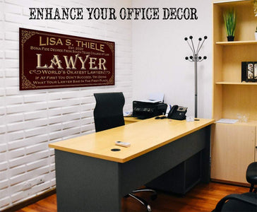 Personalized - Professional Lawyer - Canvas.