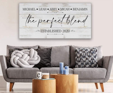 Image of Personalized - The Perfect Blend - Canvas