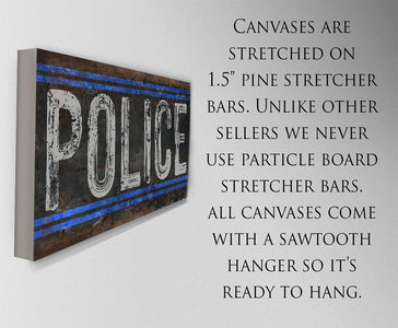 Police - Canvas.