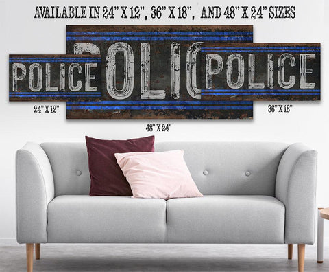 Image of Police - Canvas.