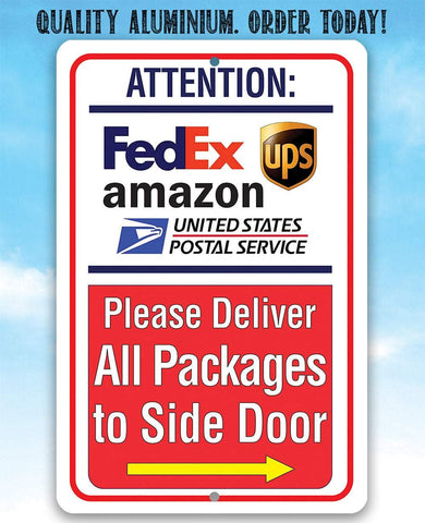 Image of Postal Sign - Metal Sign.