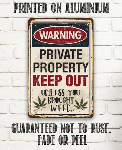 Image of Private Property Keep Out - Metal Sign.
