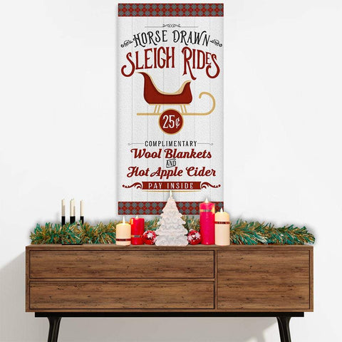 Image of Sleigh Rides - Canvas