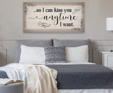 So I Can Kiss You - Canvas.