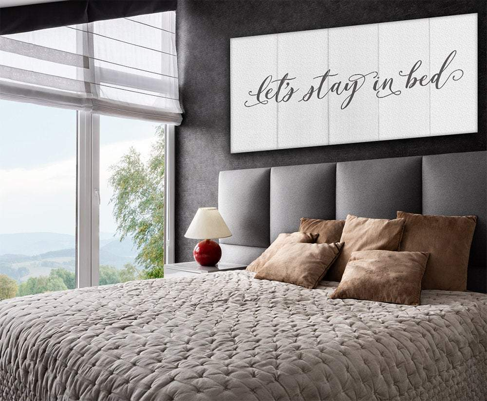 Stay In Bed Canvas