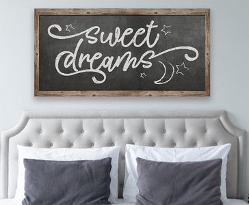 Sweet Dreams - Canvas.
