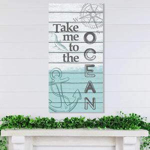 Take Me To The Ocean - Canvas Lone Star Art