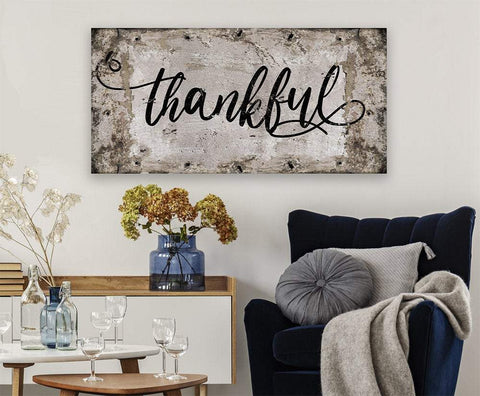 Image of Thankful - Canvas.