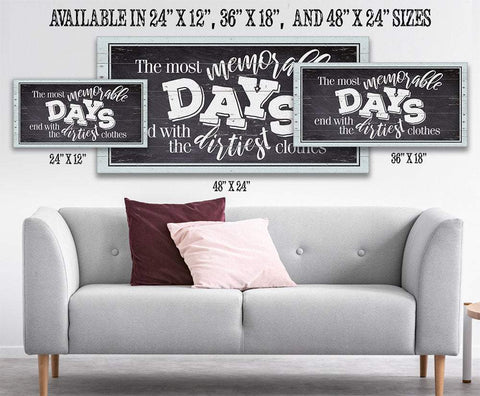 Image of The Most Memorable Days - Canvas.