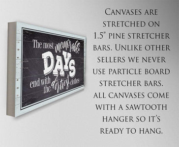 The Most Memorable Days - Canvas.