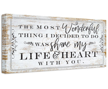 The Most Wonderful Thing - Canvas Wall Hangings Lone Star Art