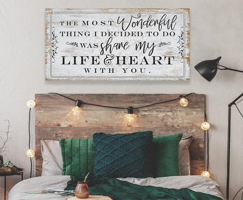 Image of The Most Wonderful Thing - Canvas