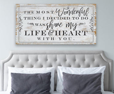 The Most Wonderful Thing - Canvas