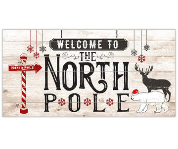 The North Pole - Canvas