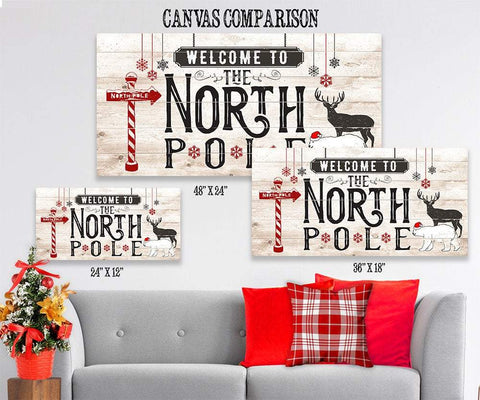 Image of The North Pole - Canvas