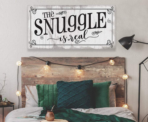 Image of The Snuggle Is Real - Canvas