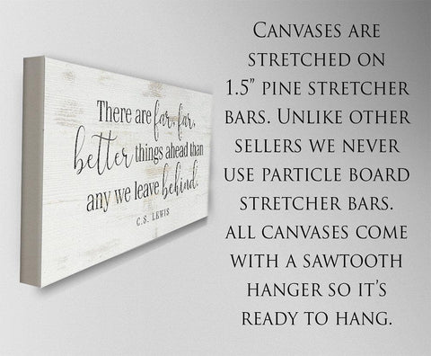 Image of There Are Far Far Better - Canvas