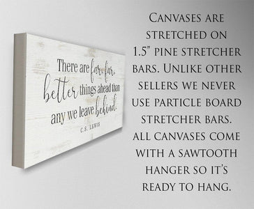 There Are Far Far Better - Canvas