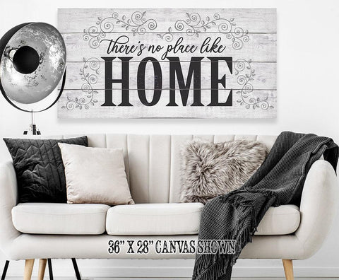 Image of There's No Place Like Home - Canvas.