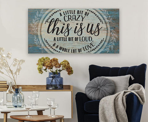 Image of This Is Us - Canvas.