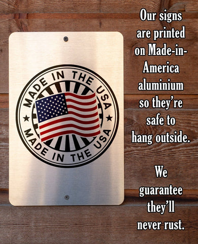 "Tin - Metal Sign - If Something Here Offends - 8""x12""/12""x18"" Use Indoor/Outdoor - Porch Decor Lone Star Art"