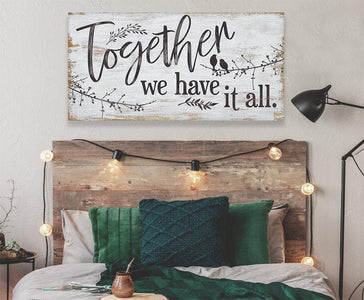 Together We Have It All - Canvas