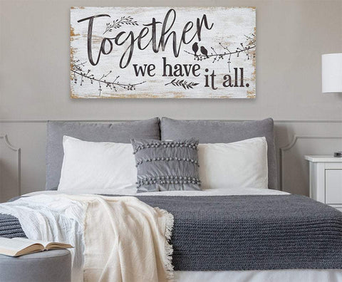 Image of Together We Have It All - Canvas