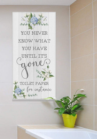 Image of Toilet Paper - Canvas