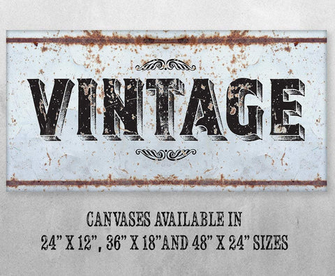 Image of Vintage - Canvas.