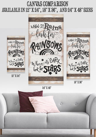 Image of When It Rains - Canvas Lone Star Art