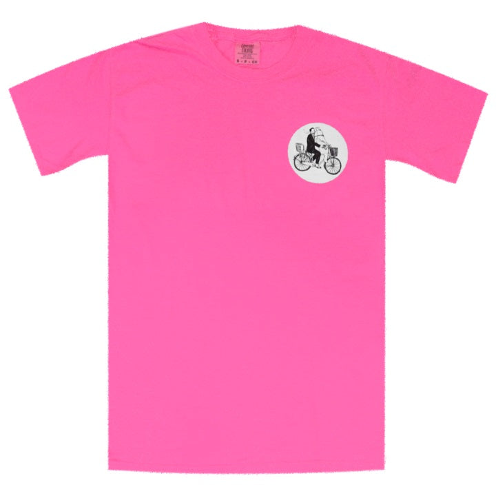 So We Won't Forget Neon Pink T-Shirt