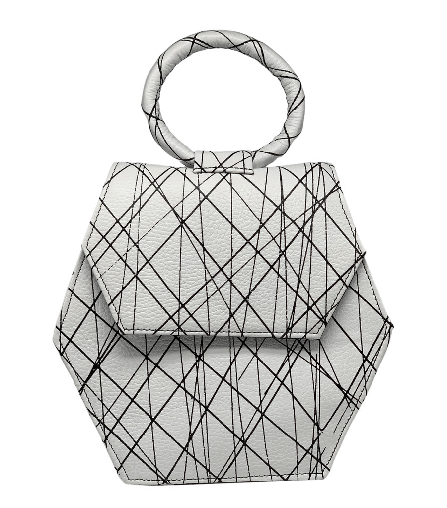 BLACK + WHITE ZURI [ONE LEFT] Purse Anima Iris