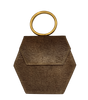COFFEE ZURI GOLD Purse Anima Iris