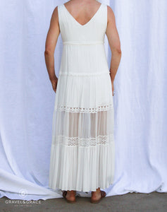 Mona Young Water Edge Maxi Dress