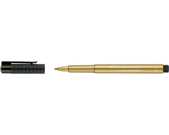 Pitt Artist Pen Metallic 1.5 Tuschestift, gold