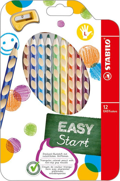 Stabilo Easy Start Buntstifte für Linkshänder