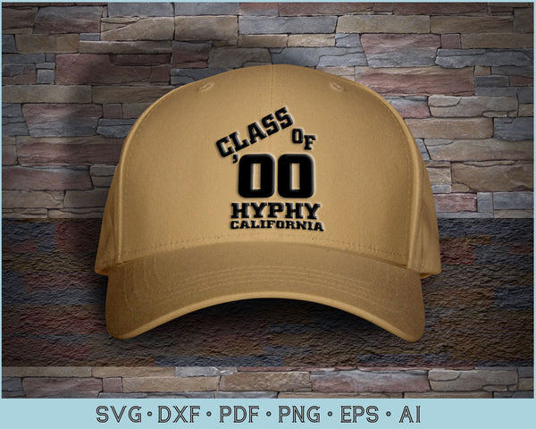 Class Of Hyphy California Cap Design