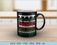 Can I Refill Your Eggnog, Christmas Vacation Quote SVG, PNG Printable Cutting Files
