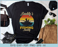 Daddy's Fishing Buddy SVG, PNG Printable Cutting files