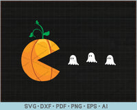 Funny Halloween Shirts For Women Kids Men Pumpkin Ghosts SVG, PNG Printable Cutting Files