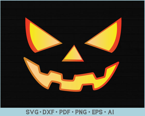 Halloween svg, Jack o Lantern Face SVG, Pumpkin svg, Face svg, girls Halloween svg, Pumpkin face svg, Instant download, Svg cut files, svg