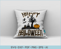 Happy Halloween, Funny Halloween SVG, PNG Print Ready Cutting Files