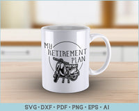 My Retirement Plan Scooter Riding, Funny Scooter Riding SVG, PNG Printable Cutting Files
