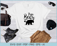 Papa Bear  SVG, PNG Printable Cutting files
