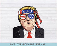 President Donald Trump SVG, PNG Printable Cutting Files