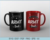 Proud Army Dad SVG, PNG Printable Cutting files