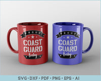 Proud Coast Guard Baby SVG, PNG Printable Cutting files